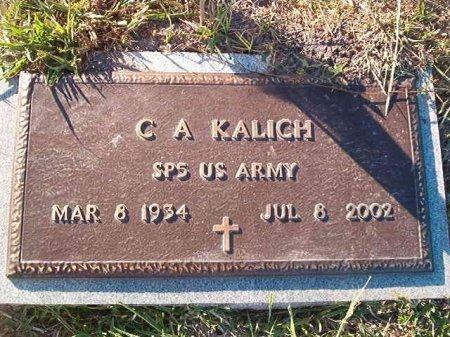 "KALICH (VETERAN), C A ""BOB"" - Victoria County, Texas | C A ""BOB"" KALICH (VETERAN) - Texas Gravestone Photos"