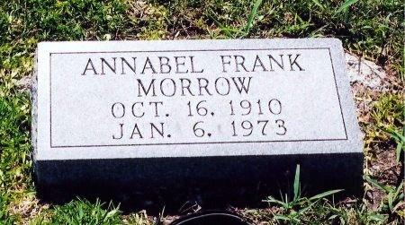 MORROW, ANNABEL ELIZABETH - Victoria County, Texas | ANNABEL ELIZABETH MORROW - Texas Gravestone Photos