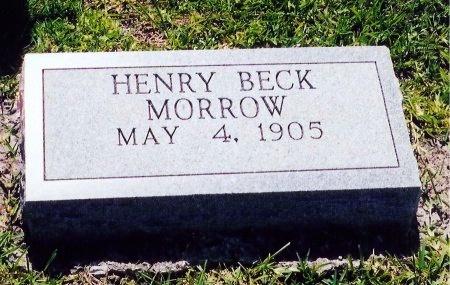 MORROW, HENRY BECK - Victoria County, Texas | HENRY BECK MORROW - Texas Gravestone Photos