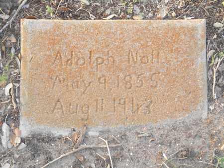 NOLL, ADOLPH - Victoria County, Texas | ADOLPH NOLL - Texas Gravestone Photos