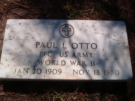 OTTO (VETERAN WWII), PAUL L - Victoria County, Texas   PAUL L OTTO (VETERAN WWII) - Texas Gravestone Photos
