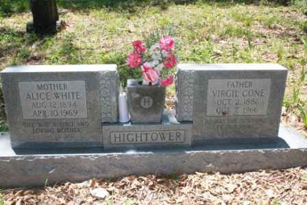 HIGHTOWER, ALICE - Walker County, Texas | ALICE HIGHTOWER - Texas Gravestone Photos
