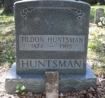 HUNTSMAN, TILDON - Walker County, Texas   TILDON HUNTSMAN - Texas Gravestone Photos