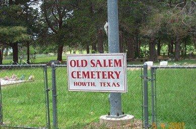 *OLD SALEM,  - Walker County, Texas |  *OLD SALEM - Texas Gravestone Photos
