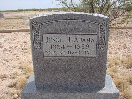 ADAMS, JESSIE J. - Ward County, Texas | JESSIE J. ADAMS - Texas Gravestone Photos