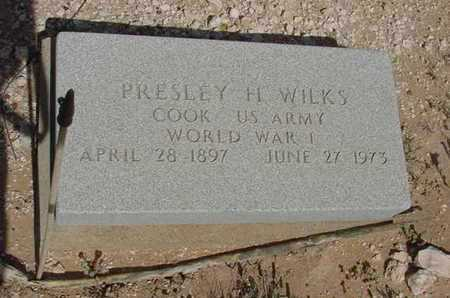WILKS (VETERAN WWI), PRESLEY H - Ward County, Texas   PRESLEY H WILKS (VETERAN WWI) - Texas Gravestone Photos