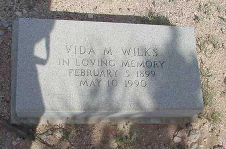 WILKS, VIDA MYRTLE GOODWIN - Ward County, Texas | VIDA MYRTLE GOODWIN WILKS - Texas Gravestone Photos