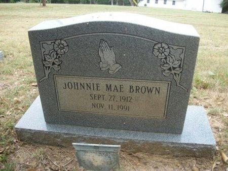 BROWN, JOHNNIE MAE - Washington County, Texas | JOHNNIE MAE BROWN - Texas Gravestone Photos