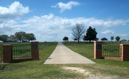 *CEMETERY ENTRANCE,  - Washington County, Texas |  *CEMETERY ENTRANCE - Texas Gravestone Photos
