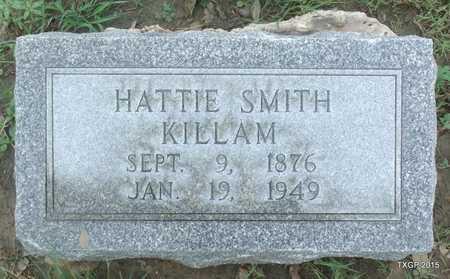 "SMITH KILLAM, HARRIETT G ""HATTIE"" - Webb County, Texas | HARRIETT G ""HATTIE"" SMITH KILLAM - Texas Gravestone Photos"