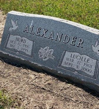 ALEXANDER, LUCILLE - Wharton County, Texas   LUCILLE ALEXANDER - Texas Gravestone Photos
