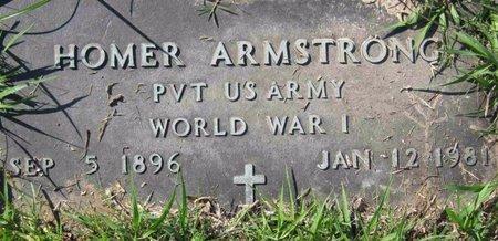 ARMSTRONG (VETERAN WWI), HOMER - Wharton County, Texas | HOMER ARMSTRONG (VETERAN WWI) - Texas Gravestone Photos