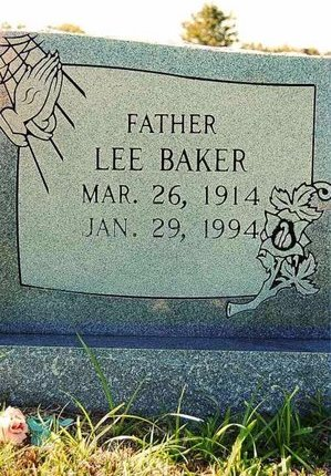 BAKER, LEE - Wharton County, Texas | LEE BAKER - Texas Gravestone Photos