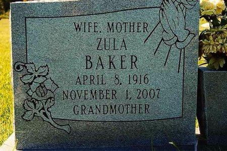 BAKER, ZULA - Wharton County, Texas | ZULA BAKER - Texas Gravestone Photos