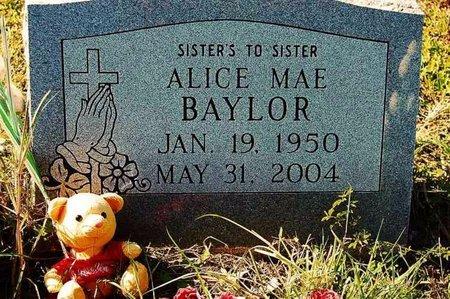 BAYLOR, ALICE MAE - Wharton County, Texas   ALICE MAE BAYLOR - Texas Gravestone Photos