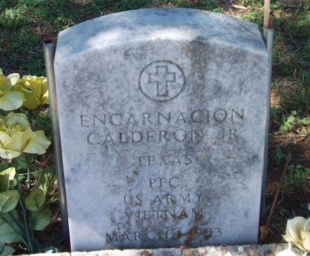 CADDERON, JR. (VETERAN VIET), ENCARNACION - Wharton County, Texas | ENCARNACION CADDERON, JR. (VETERAN VIET) - Texas Gravestone Photos