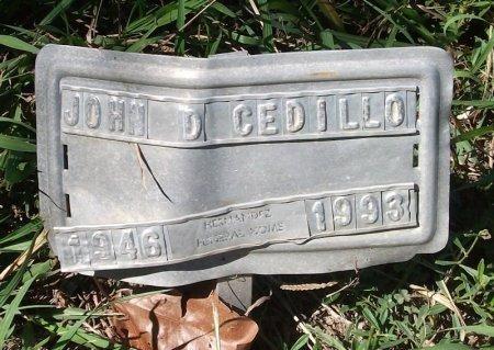 CEDILLO, JOHN DANIEL - Wharton County, Texas   JOHN DANIEL CEDILLO - Texas Gravestone Photos
