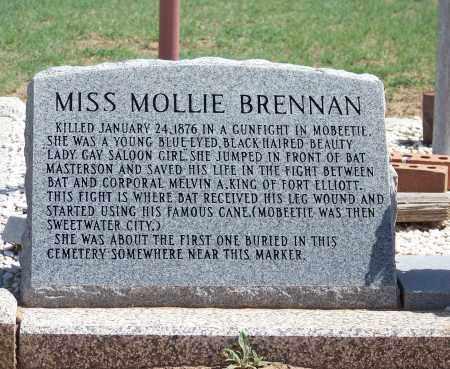 BRENNAN, MOLLIE - Wheeler County, Texas | MOLLIE BRENNAN - Texas Gravestone Photos