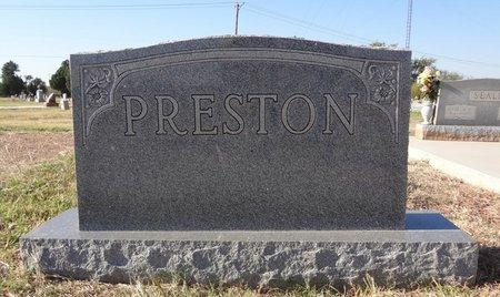 PRESTON FAMILY STONE,  - Wichita County, Texas |  PRESTON FAMILY STONE - Texas Gravestone Photos