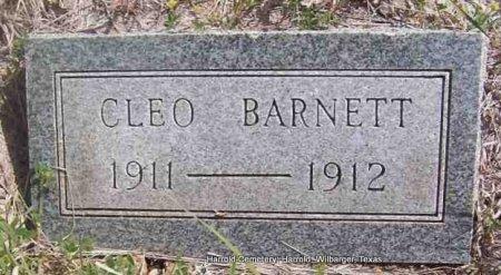 BARNETT, CLEO - Wilbarger County, Texas   CLEO BARNETT - Texas Gravestone Photos