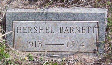 BARNETT, HERSHEL - Wilbarger County, Texas | HERSHEL BARNETT - Texas Gravestone Photos