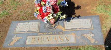 BAUMANN, TROY R - Wilbarger County, Texas   TROY R BAUMANN - Texas Gravestone Photos