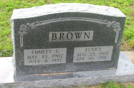 BROWN, EUNICE - Wilbarger County, Texas | EUNICE BROWN - Texas Gravestone Photos