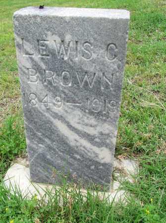 BROWN, LEWIS C. - Wilbarger County, Texas   LEWIS C. BROWN - Texas Gravestone Photos