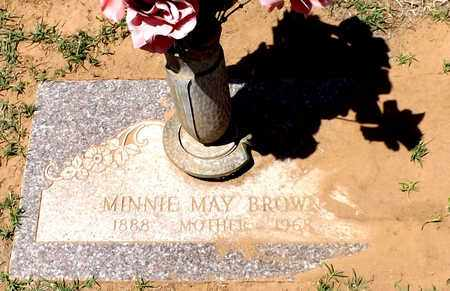 BROWN, MINNIE MAY - Wilbarger County, Texas | MINNIE MAY BROWN - Texas Gravestone Photos