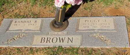 BROWN, PEGGY J - Wilbarger County, Texas | PEGGY J BROWN - Texas Gravestone Photos
