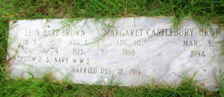 BROWN, MARGARET - Wilbarger County, Texas | MARGARET BROWN - Texas Gravestone Photos