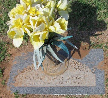 BROWN, WILLIAM ELMER - Wilbarger County, Texas | WILLIAM ELMER BROWN - Texas Gravestone Photos