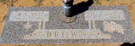 "BROWN, WILLIAM E ""BILL"" - Wilbarger County, Texas | WILLIAM E ""BILL"" BROWN - Texas Gravestone Photos"