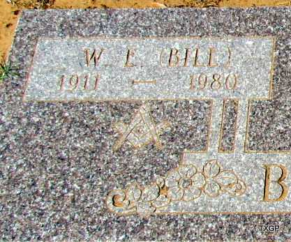 """BROWN, WILLIAM E """"BILL"""" (CLOSE UP) - Wilbarger County, Texas 