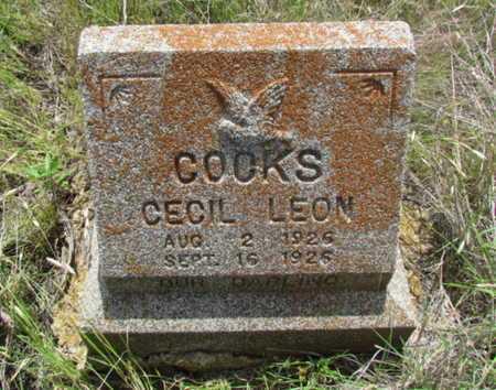 COCKS, CECIL LEON - Wilbarger County, Texas | CECIL LEON COCKS - Texas Gravestone Photos