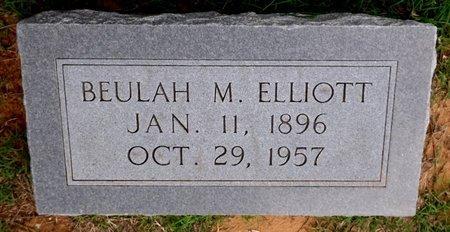 ELLIOTT, BEULAH M. - Wilbarger County, Texas | BEULAH M. ELLIOTT - Texas Gravestone Photos