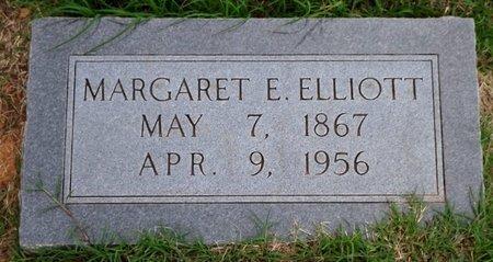 ELLIOTT, MARGARET E. - Wilbarger County, Texas   MARGARET E. ELLIOTT - Texas Gravestone Photos