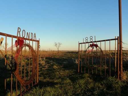 *GATE AND OVERVIEW,  - Wilbarger County, Texas |  *GATE AND OVERVIEW - Texas Gravestone Photos