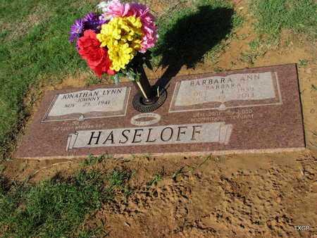 HASELOFF, BARBARA ANN - Wilbarger County, Texas | BARBARA ANN HASELOFF - Texas Gravestone Photos