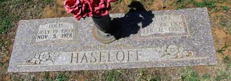 HASELOFF, LOUIS - Wilbarger County, Texas | LOUIS HASELOFF - Texas Gravestone Photos