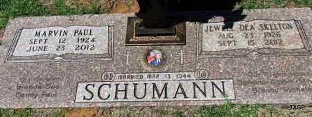 SCHUMANN, MARVIN PAUL - Wilbarger County, Texas | MARVIN PAUL SCHUMANN - Texas Gravestone Photos