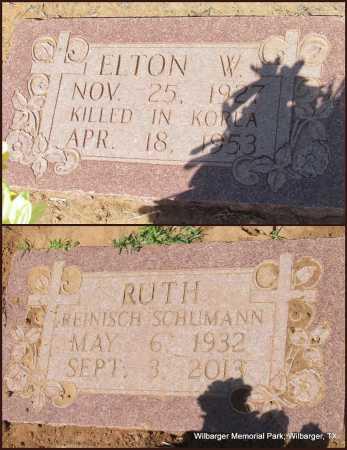 HANNAH SCHUMANN, RUTH REINISCH - Wilbarger County, Texas | RUTH REINISCH HANNAH SCHUMANN - Texas Gravestone Photos