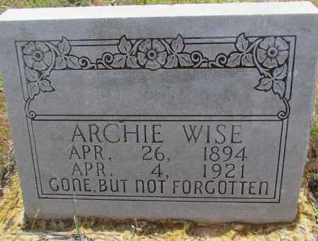 WISE, ARCHIE - Wilbarger County, Texas | ARCHIE WISE - Texas Gravestone Photos