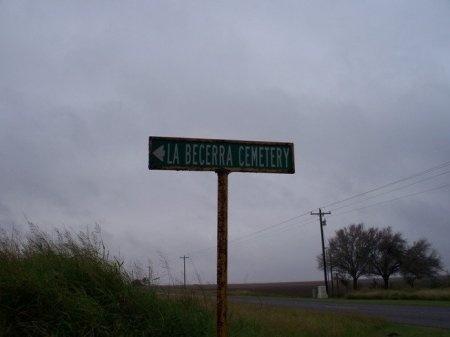 *CEMETERY SIGN,  - Willacy County, Texas |  *CEMETERY SIGN - Texas Gravestone Photos