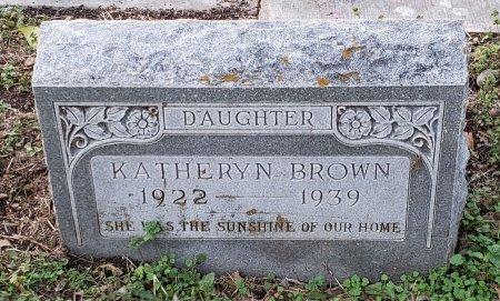 BROWN, KATHERYN - Williamson County, Texas   KATHERYN BROWN - Texas Gravestone Photos