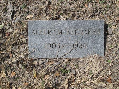 BUCHANAN, ALBERT M. - Williamson County, Texas | ALBERT M. BUCHANAN - Texas Gravestone Photos