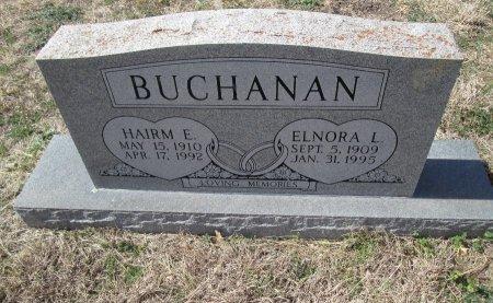 BUCHANAN, HAIRM E. - Williamson County, Texas | HAIRM E. BUCHANAN - Texas Gravestone Photos