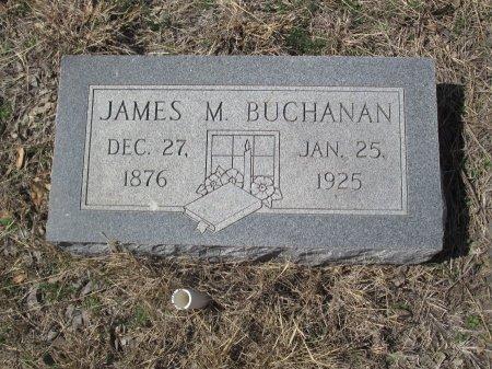BUCHANAN, JAMES M. - Williamson County, Texas | JAMES M. BUCHANAN - Texas Gravestone Photos