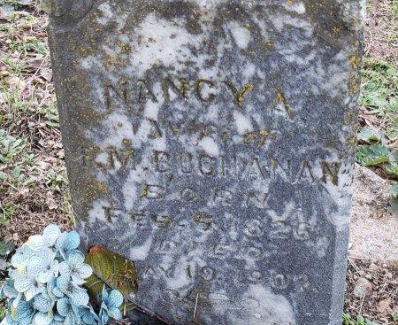 BROWN BUCHANAN, NANCY ANN  (CLOSEUP) - Williamson County, Texas | NANCY ANN  (CLOSEUP) BROWN BUCHANAN - Texas Gravestone Photos