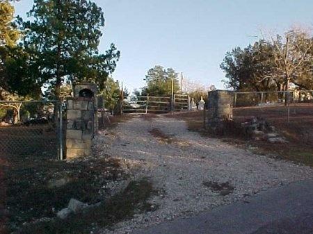 *CEMETERY ENTRANCE,  - Williamson County, Texas    *CEMETERY ENTRANCE - Texas Gravestone Photos